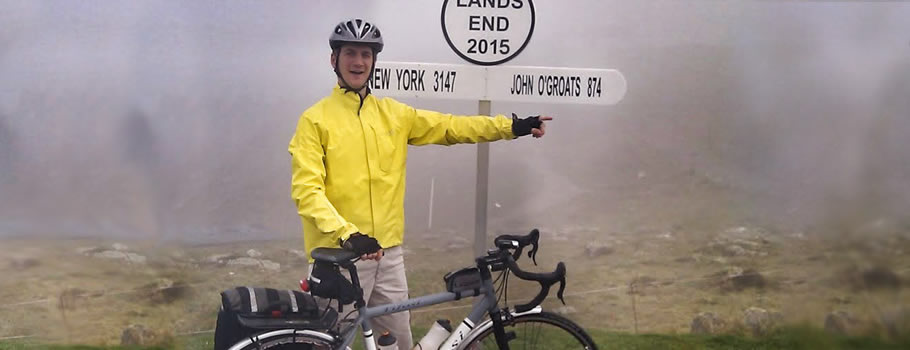 Tenos fire engineer set to take on 300-mile cycle challenge for children's charity