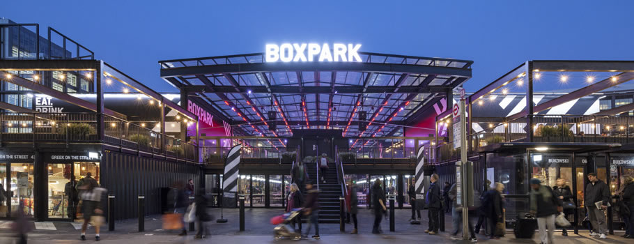Boxpark Croydon: Tenos have fire engineering strategy all 'boxed-up'