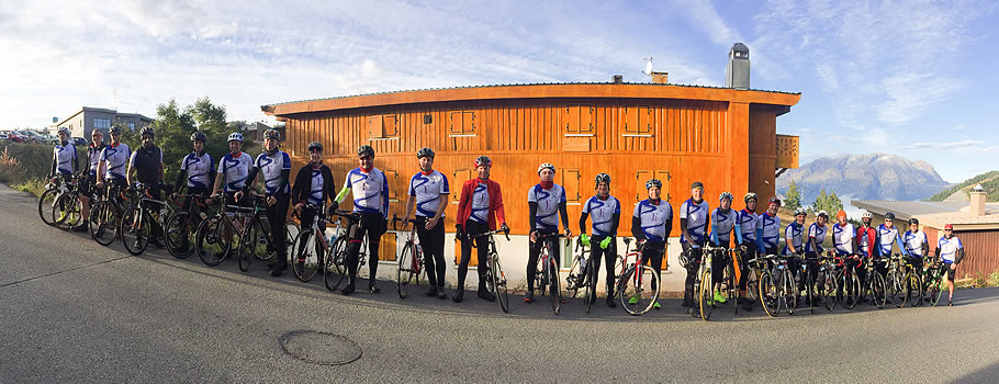 Fire Engineers take part in John Lewis Alpine Cycle Challenge