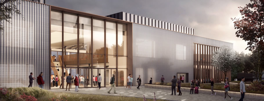 Tenos help architects achieve design aspirations for UCLan's new £26m student centre in Preston.