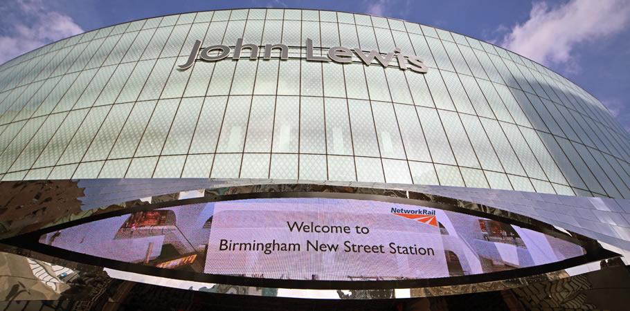 John Lewis Birmingham New Street